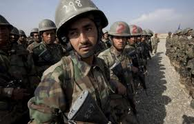 ANSF soldier