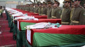 ANSF mass funeral