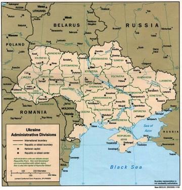 Ukraine administrative divisions