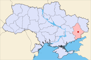 Donetsk-Ukraine-map