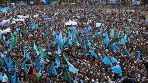 Election rally, Abdullah