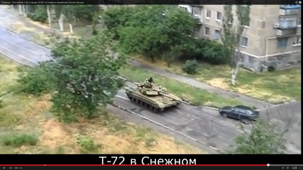 A T-64, not a T-72 as claimed