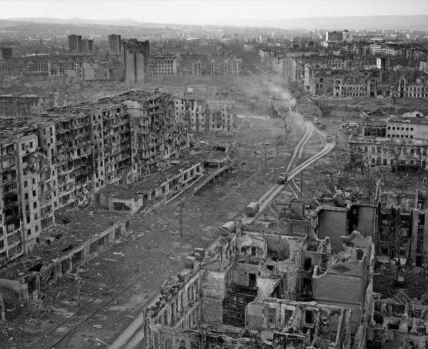 Grozny destroyed