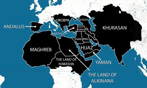 Map ISIS expansionism