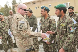 US Army, Afghanistan 2015: Training mission, not combat mission