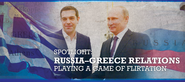 Wikistrat, Russia, Greece relations
