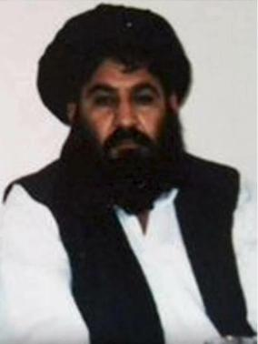 Mullah Akhtar Mohammad Mansour, Taliban militants' new leader, is seen in this undated handout photograph