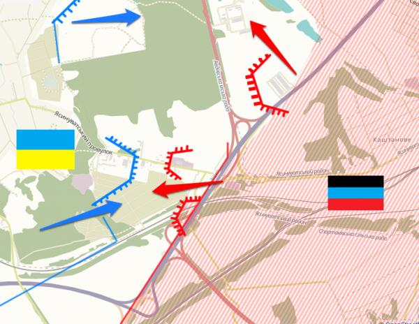 Ukraine, avdiivka front line