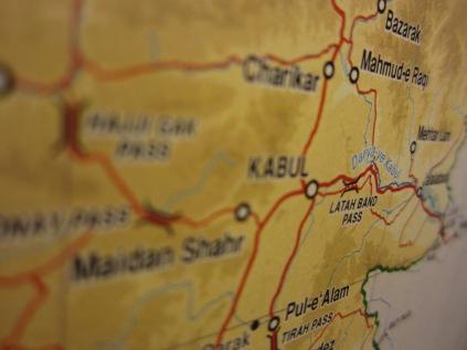 Photos of Afghan maps 006