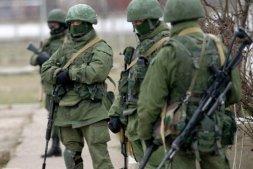 little green men, Crimea